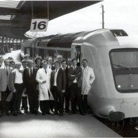 Prototype HST, then the fastest train in the world