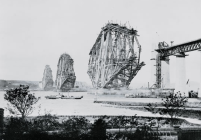 Construction of the Forth bridge